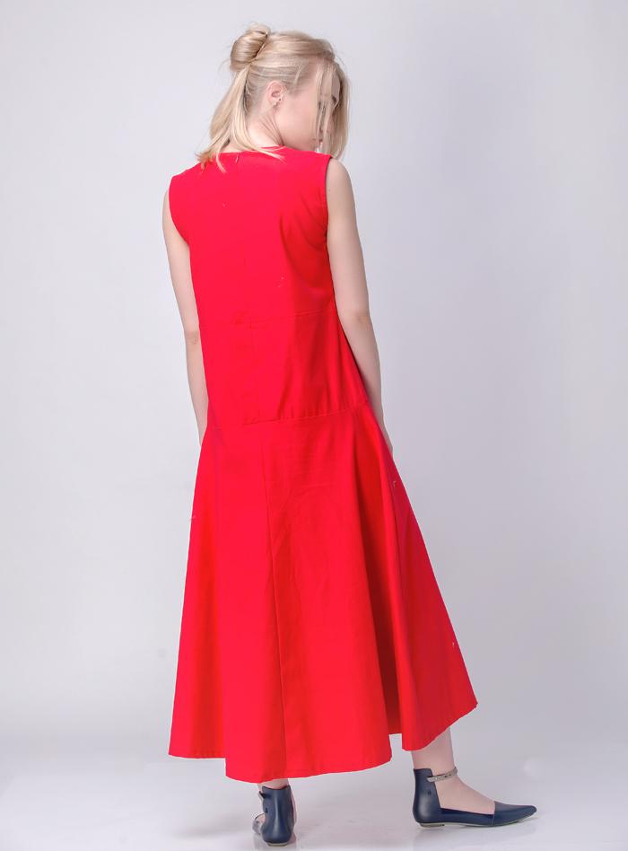Tampil Cantik Maksimal Dengan Cleo Red Dress