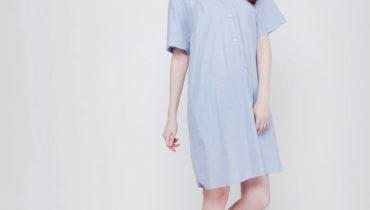 Sempurnakan Koleksi Gaun Anda dengan Alice Soft Stripes Dress