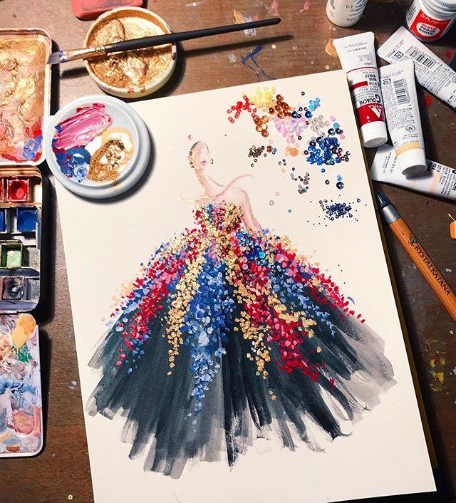 Fashion Illustrator You Should Follow on Instagram